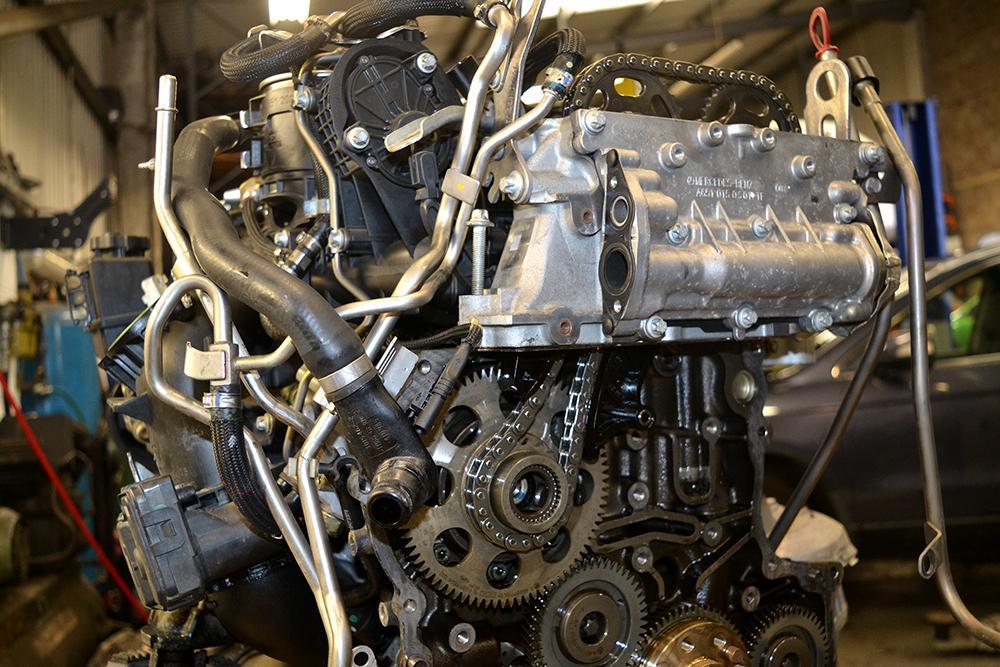 замена двигателя w212