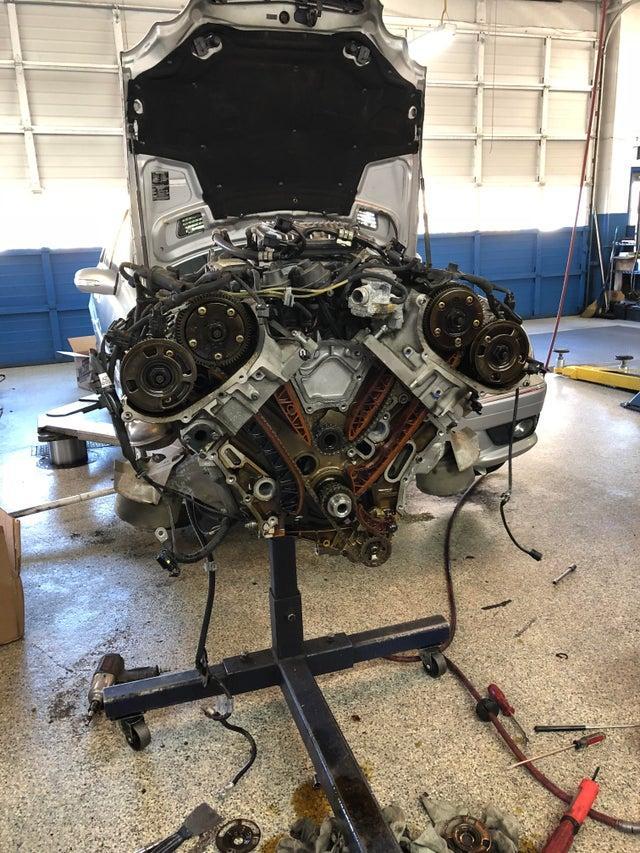 ремонт 272 мотора в очаково