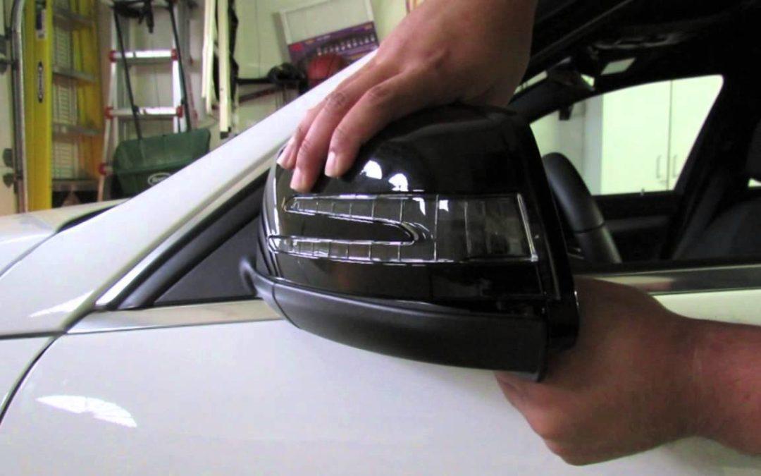 ремонт бокового зеркала